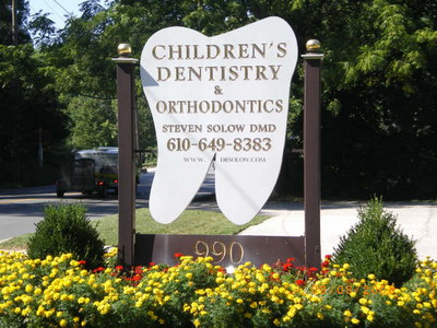 Wynnewood Office Sign - Pediatric Dentists in Philadelphia and Wynnewood, PA