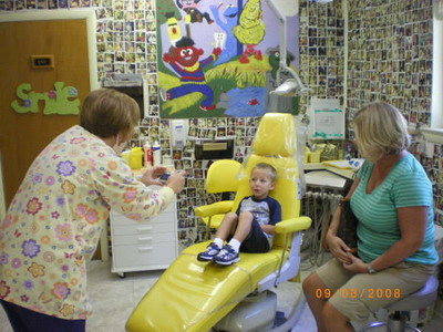 First Visit Wall - Pediatric Dentists in Philadelphia and Wynnewood, PA