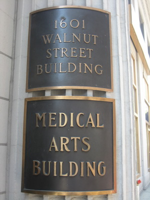 Medical Arts Building Sign - Pediatric Dentists in Philadelphia and Wynnewood, PA